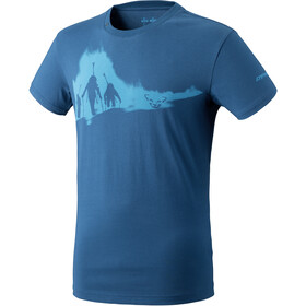 Dynafit Graphic Cotton T-shirt manches courtes Homme, poseidon/ascent